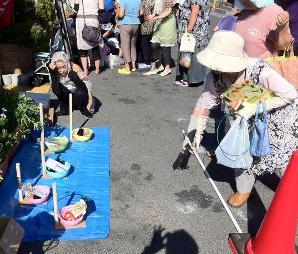 野菜の日記念(被災地支援)輪投げ.JPG